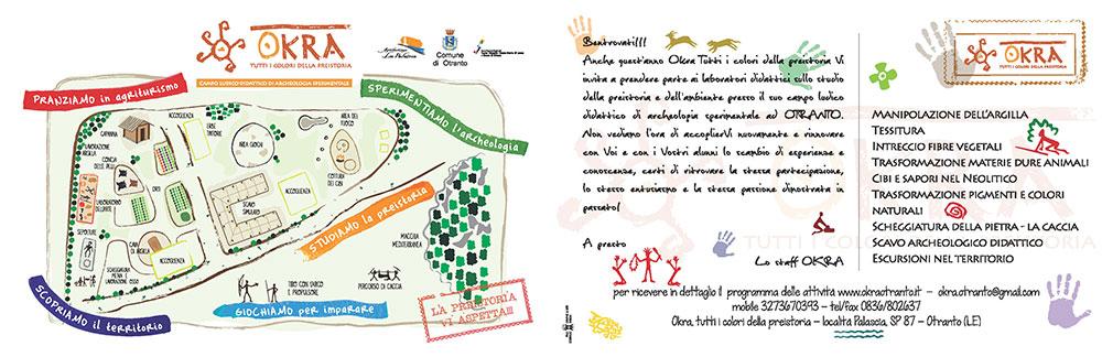 cartolina okra scuole didattiica 2014