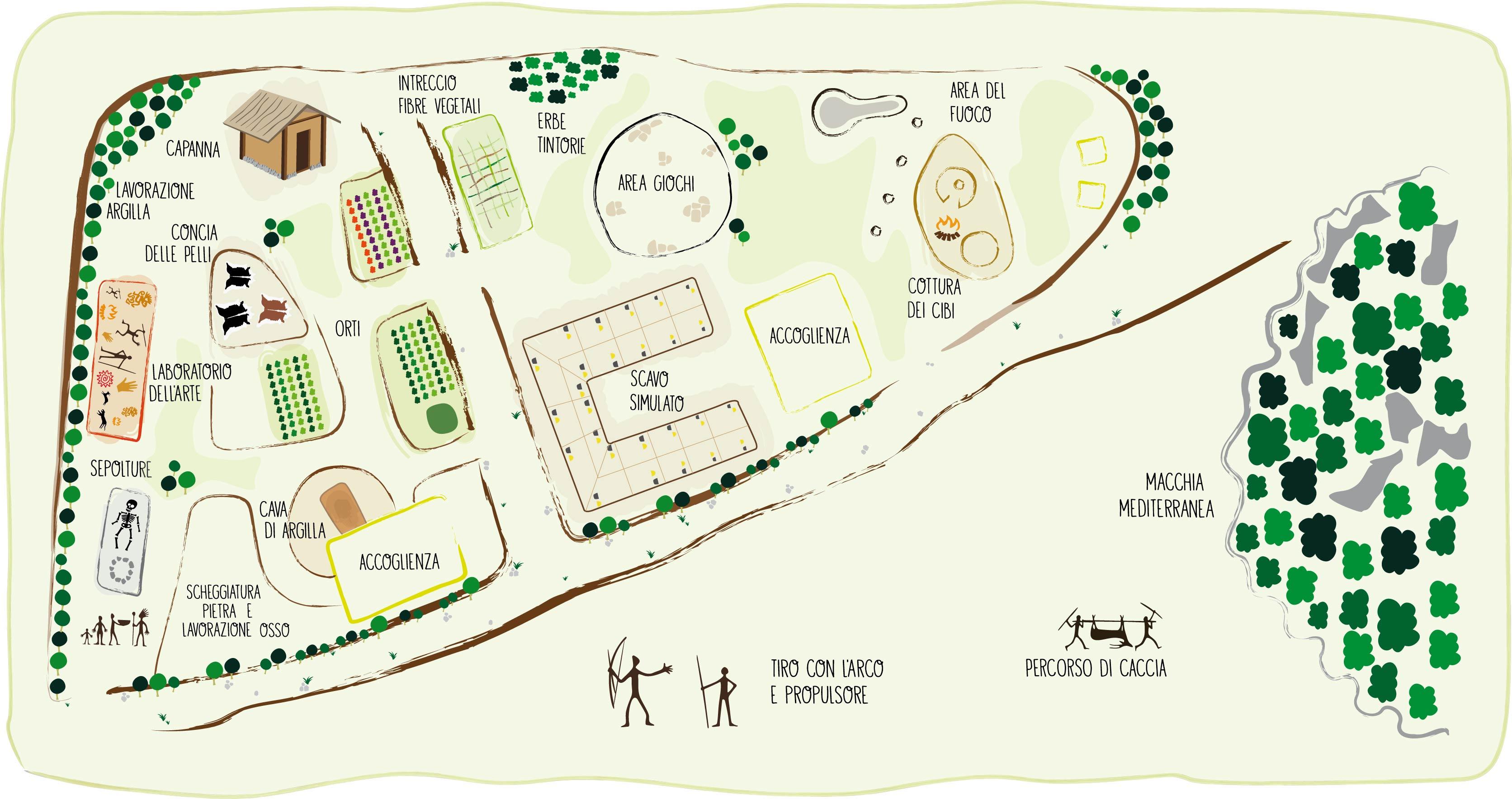 okra mappa del campo